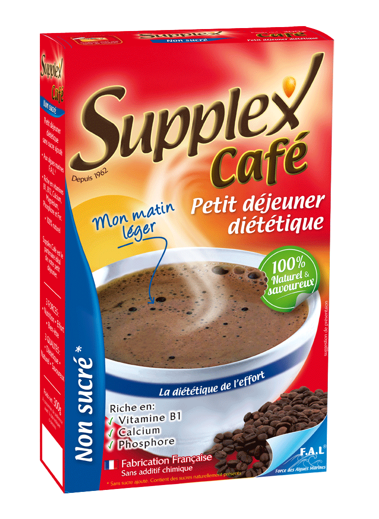 supplex café non sucré