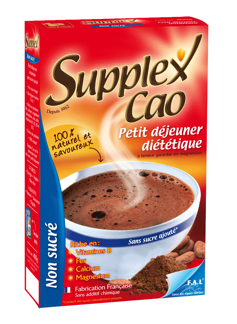 Supplex Cao Non Sucré