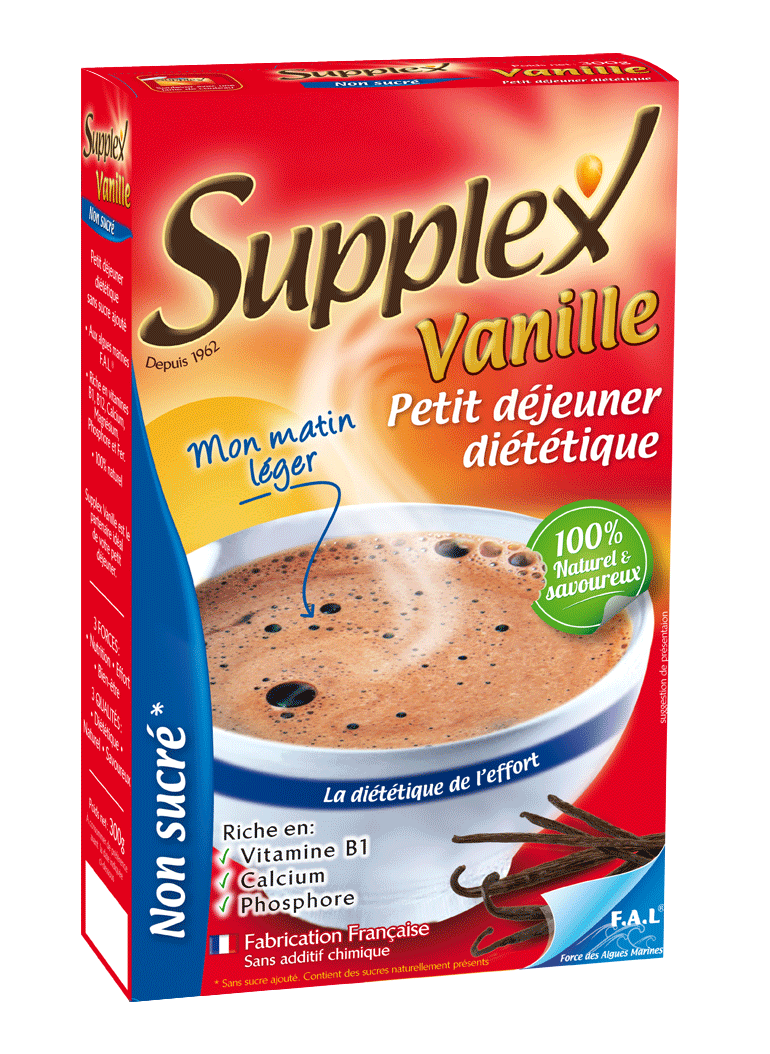 SUPPLEX vanille non sucré