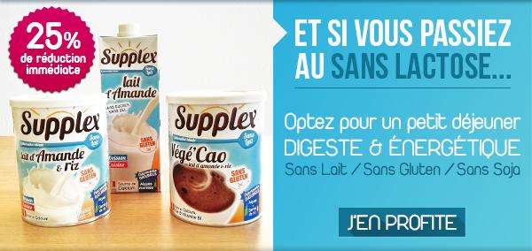 Promo gamme sans lait