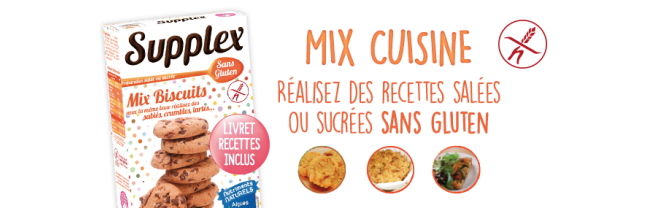 Mix cuisine Supplex sans gluten