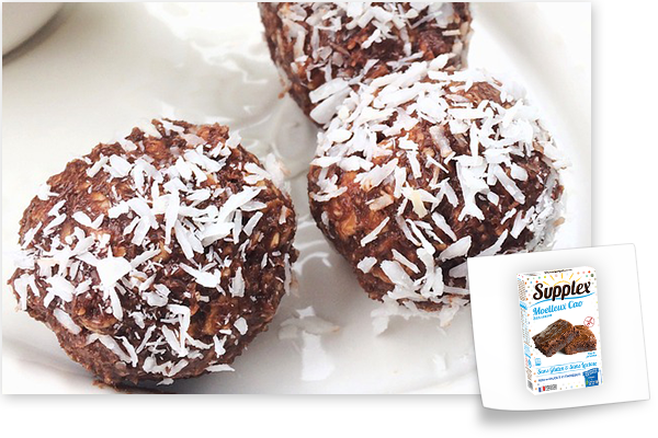 brownie-balls sans gluten moelleux cao supplex