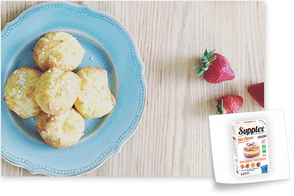 chouquettes sans gluten mix choux supplex