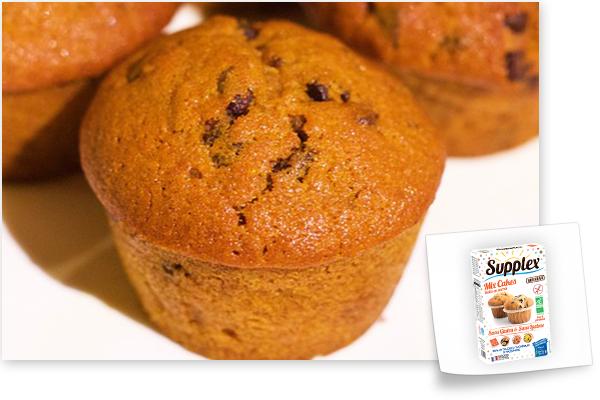 muffins mix cakes sans gluten supplex
