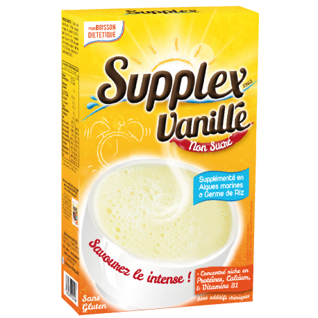 Supplex Vanille Non Sucré* & Intense