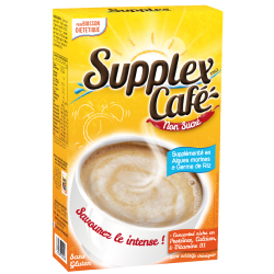 Supplex CAFÉ Non Sucré* & Intense 250 g