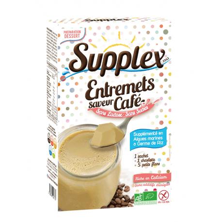 FLAN CAFE - Sans Lait Sans Gluten