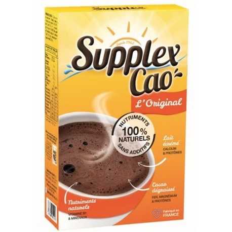 Tableau Nutritionnel Supplex Cao 400 g